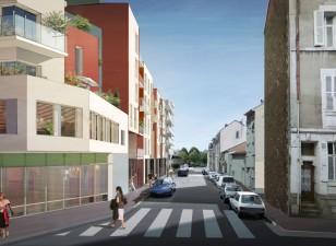 Saint – Exupéry, 70 logements BBC