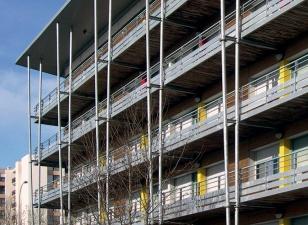 CROUS, résidence universitaire, réhabilitation 277 logements