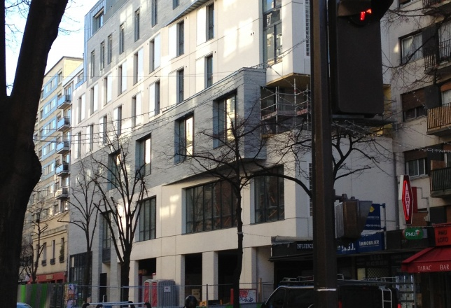 Maison Internationale des Franciscaines Missionnaires de Notre-Dame, chantier / janvier  2014